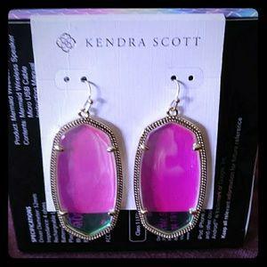 Kendra scott Danielle dichroic earrings